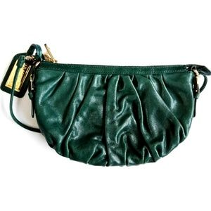 Badgley Mischka leather crossbody. New with tags.